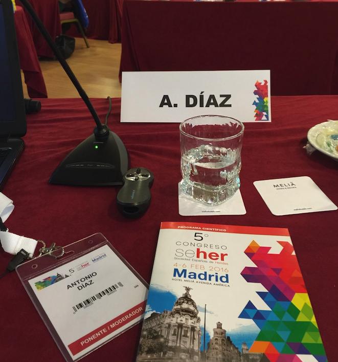El Dr. Díaz Gutiérrez, cirujano plástico en Madrid, como ponente en el Congreso SEHER.