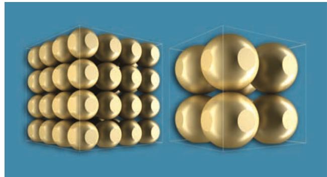 Se aprecia que, al ser los injertos más finos, existe una mayor superficie de contacto.
